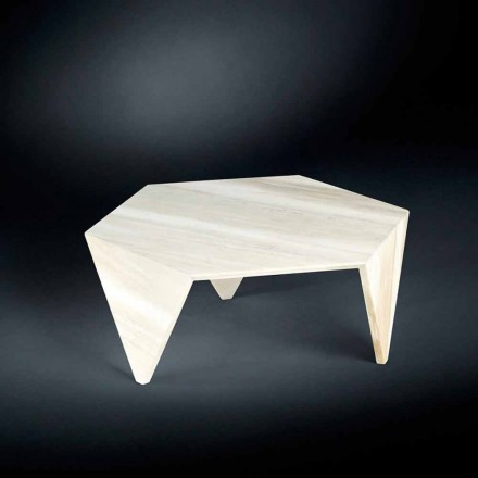 Plně Marble Side Table Ruche