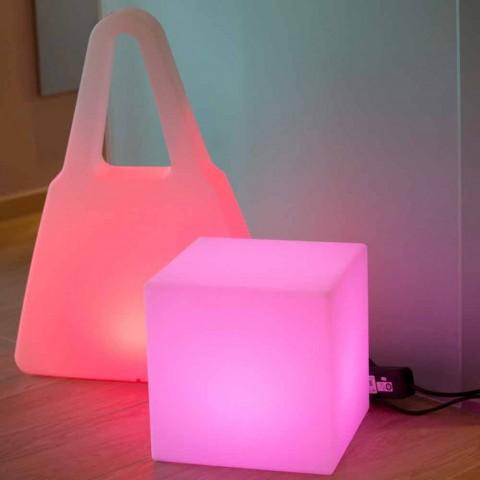 Barevný osvětlený konferenční stolek moderního designu s možností výběru - Dadostar