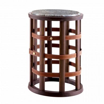 Grilli Harris moderní kulatý kuřácký stůl vyrobený v Itálii