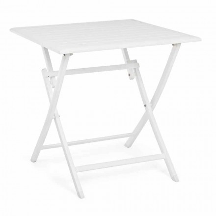 Skládací venkovní konferenční stolek z lakovaného hliníku - Hunt