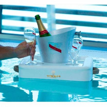 Konferenční stolek - Plovoucí zásobník provedení imitace kůže námořních Trona