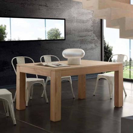 Prodloužení stolu s masivního dřeva nohy a horní listellare Indiana