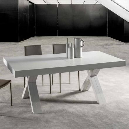 Rozkládací stůl s horní částí z vrstveného dřeva - Atessa