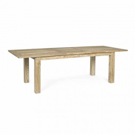 Rozkládací dřevěný zahradní stůl 8 lidí Design Homemotion - Gismondo