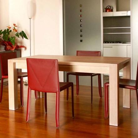 Rozšiřitelný designový stůl z dubového dřeva, L160 / 260xP90cm, Jacob