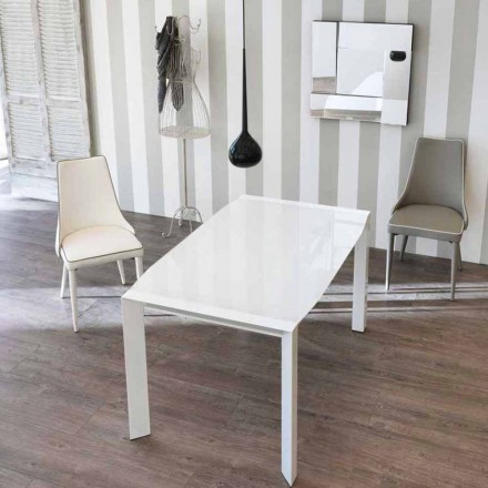 Prodloužení stolu moderní design s horním Vetro Zeno