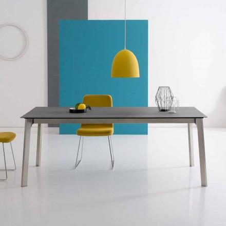Designový výsuvný stůl z hliníku, vyrobený v Itálii - Arnara