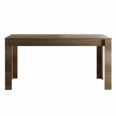 Roztažitelný stůl až 185 cm melaminového designu Made in Italy - Ketra