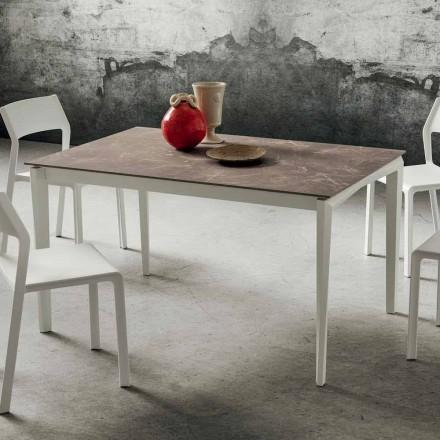 Roztažitelný stůl až 240 cm s deskou HPL Made in Italy - Fantastic