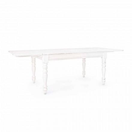 Klasický rozkládací stůl do 240 cm v Mango Wood Homemotion - Tongo
