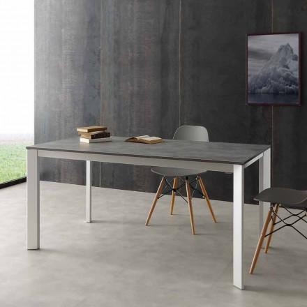 Roztahovací stůl až 3 metry v hliníkovém a laminátu HPL Urbino