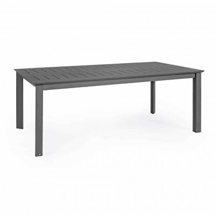 Rozkládací venkovní stůl v hliníkovém moderním designu Homemotion - Casper