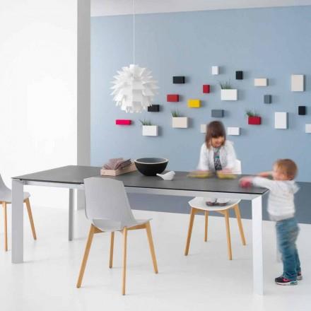 Rozkládací moderní stůl s hliníkovou konstrukcí - Blera