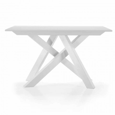 Rozkládací stolní konzole až do 325 cm v melaminu Vyrobeno v Itálii - Settimmio