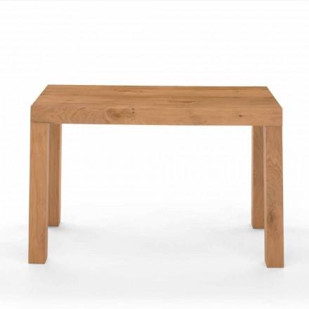 Rozšiřitelná konzolová tabulka v dřeva Venereed Made in Italy - Gordito
