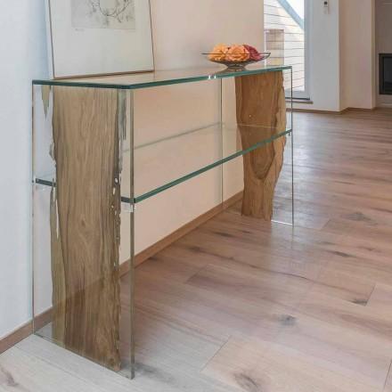 stolní konzole v delfína dřevěné a skleněné Fenice v Benátkách