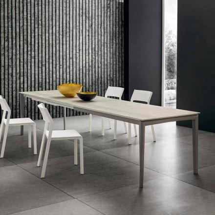 Roztažitelný kuchyňský stůl do 240 cm v Hpl Made in Italy - Fantastické