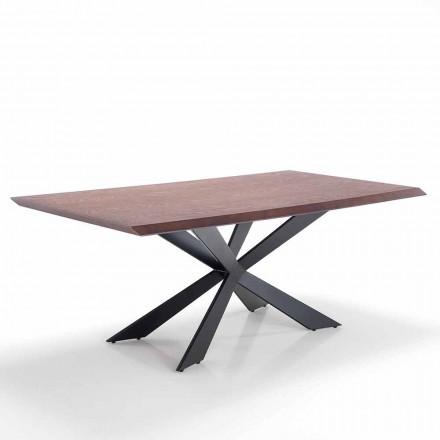 Moderní design jídelní stůl v Mdf a kovu - Hoara