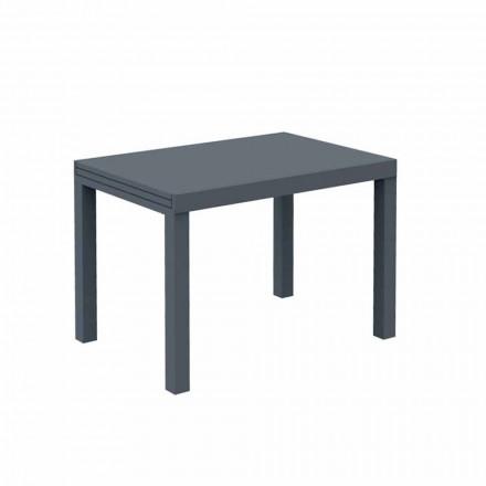 Rozkládací venkovní stůl až do 280 cm v kovovém provedení v Itálii - Dego