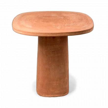 Čtvercový terakotový venkovní stůl 70x70 cm Vyrobeno v Itálii - Julie