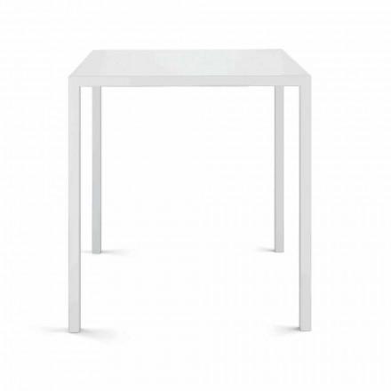 Čtvercový venkovní stůl vyrobený v Itálii - Benedikt