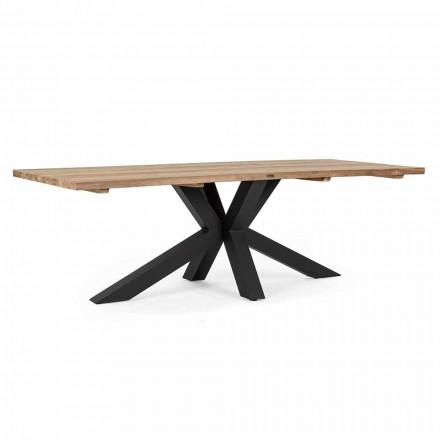 Zahradní stůl s top z teakového dřeva od Homemotion - Cowen Design