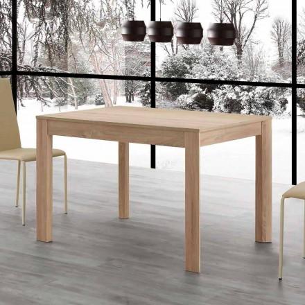 Rozkládací jídelní stůl Fiumicino 130x80 otevřený 190 cm, design