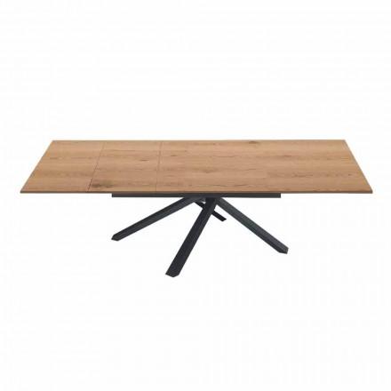 Roztažitelný jídelní stůl na 260 cm ve dřevě v moderním designu - Gabicce