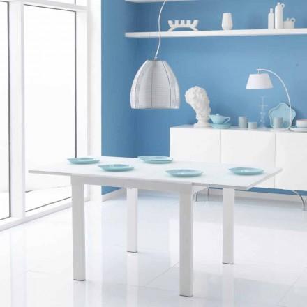 jídelní stůl se skleněnou deskou Teo