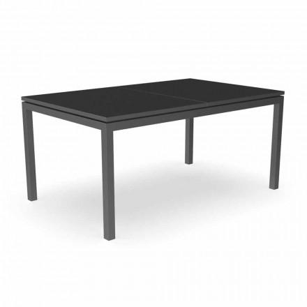 Rozkládací zahradní jídelní stůl 280 cm z hliníku - Adam od Talenti