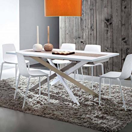 Roztažitelný jídelní stůl do 250 cm ve Fenixu Made in Italy - Carlino