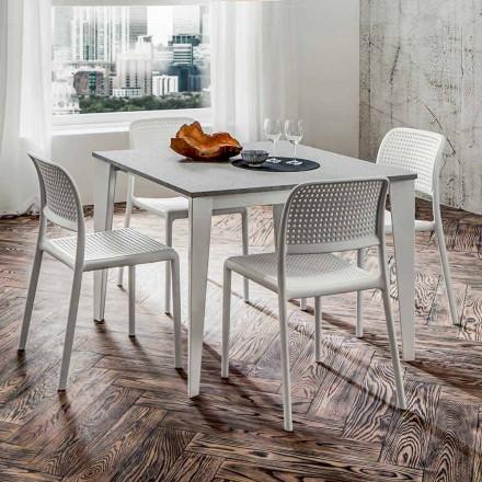 Roztažitelný jídelní stůl až 252 cm v HPL Made in Italy - Efisto