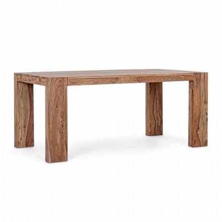 Dřevěný jídelní stůl Homemotion rozšiřitelný až na 265 cm - Bruce