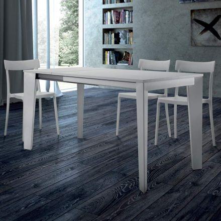 Rozkládací jídelní stůl do 310 cm v melaminu Vyrobeno v Itálii - Settanta