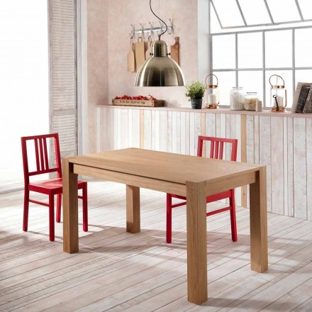 Extensible jídelní stůl v dubu Phaedrus, made in Italy