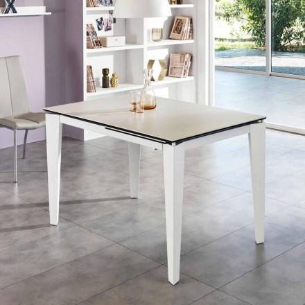 Jídelní sklokeramická prodloužení stolu, 120 / cm 170xP80, Bino