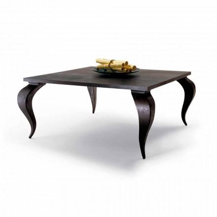 Jídelní stůl luxusní design z masivního dřeva, made in Italy, Thread