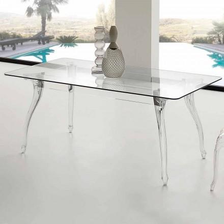 od moderního designu jídelní stůl s tvrzeného skla Jinny