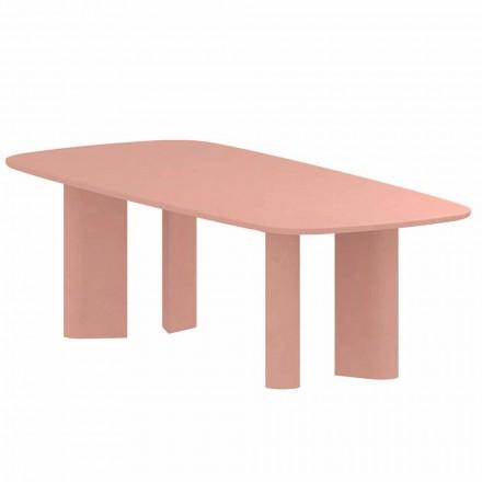 Designový jídelní stůl z hlíny vyrobený v Itálii - geometrický stůl Bonaldo