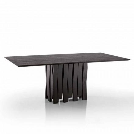 Design jídelní stůl z MDF dřeva vyrobeného v Itálii, Egisto