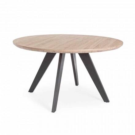 Moderní jídelní stůl s kulatou deskou v provedení Mdf Coated Homemotion - Varna