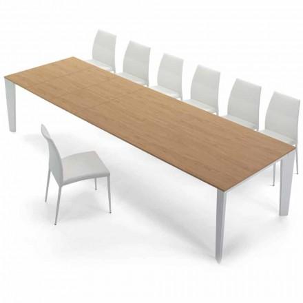 Rozkládací stůl Venereed Wood do 325 cm Vyrobeno v Itálii - Settanta