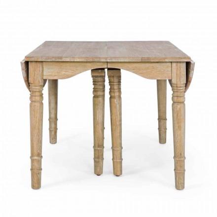 Klasický stůl z masivního dřeva rozšiřitelný až na 382 cm Homemotion - Brindisi