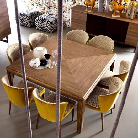 Moderní stůl z masivního dřeva Grilli York vyrobený v Itálii