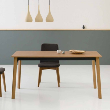 Moderní rozšiřitelný jídelní stůl, vyrobený v Itálii - Sellia
