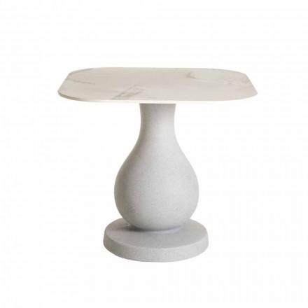 Čtvercový jídelní stůl, povrch v HPL - Ottocento