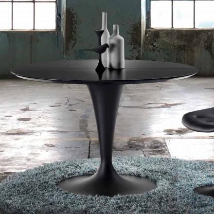 Kulatý stůl, rozšiřitelný as moderním designem - Borgia