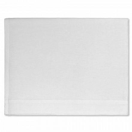 Osuška ve smetaně nebo přírodní bílé čisté prádlo vyrobené v Itálii - Blessy
