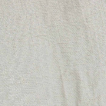 Lehký plátěný bílý závěs s italskými luxusními designovými tlačítky - Geogeo