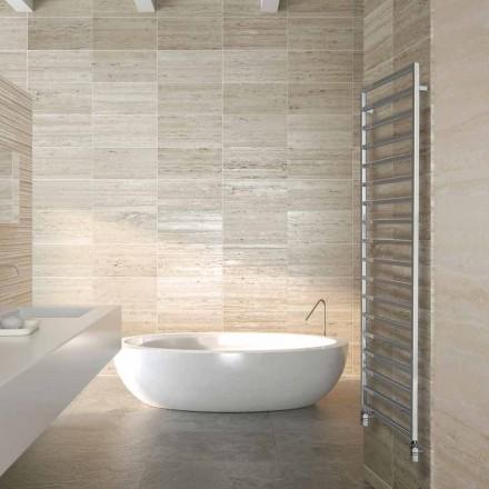 Termoarredo hydraulické designer koupelna, chrom, Winter Scirocco H